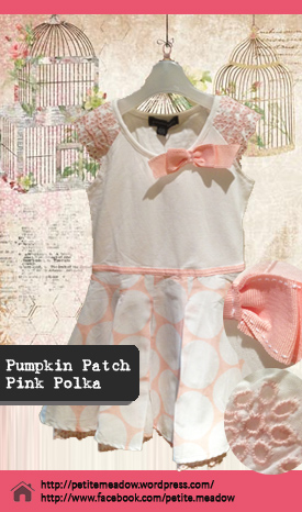 Pumpkin Patch Pink Polka Dress